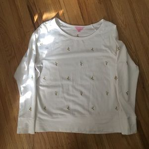 Lilly Pulitzer Mermaid Sweatshirt